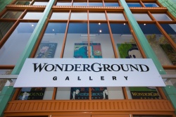 wonderground gallery downtown disneyland art artist artquench