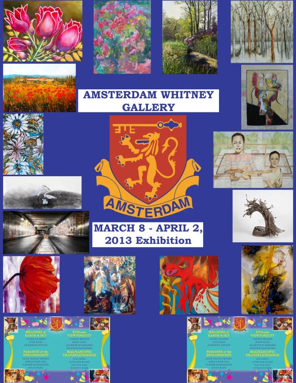 Amsterdam Whitney Gallery Poster  2013 (2)