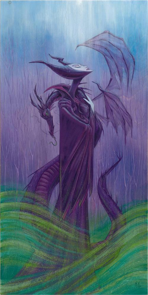 MaleficentWish by Martin WGG artist