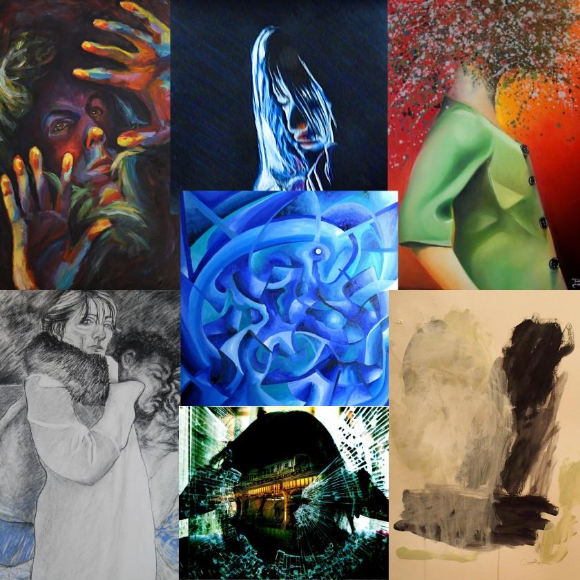 Fire Art Studio collage invite2