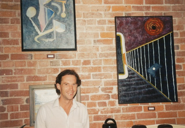 David W. Douthat show in Santa Rosa coffee house 1989 ok