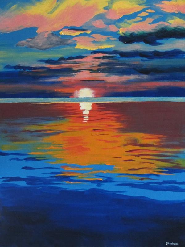 Stephanie H. Door County Sunset - 2