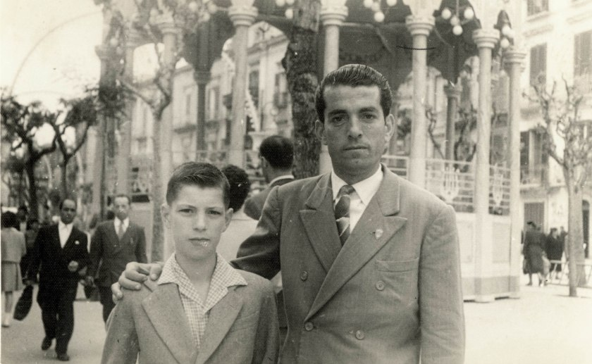 Antonio Anelli with my father