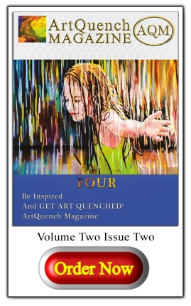 ArtQuench Magazine AQM Issue 4 Button