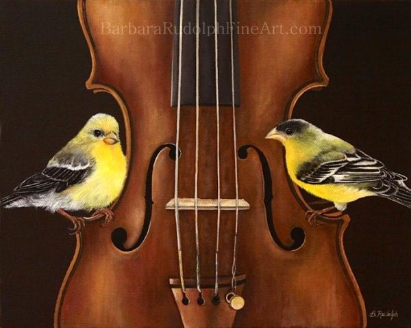 Barbara Rudolph The Goldfinch Sonata