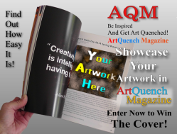 Showcase your Art or Enter to Win Your Art on the Cover