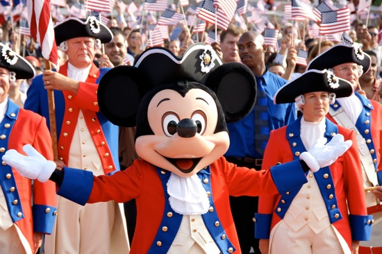 Wonderground Mickey July 4