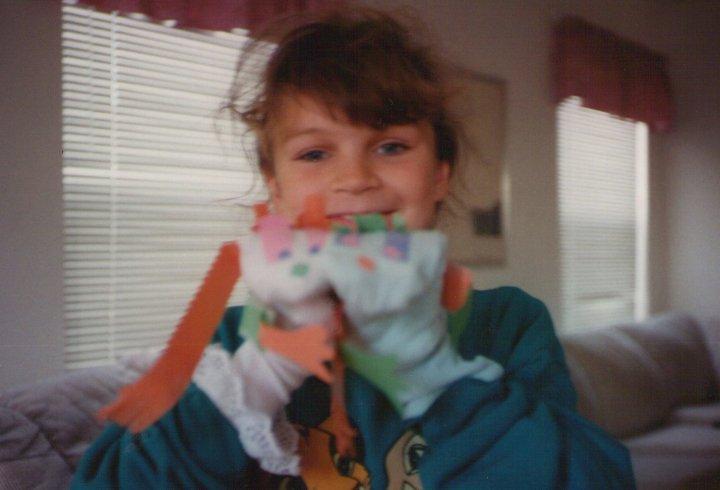 Jessie sock puppet