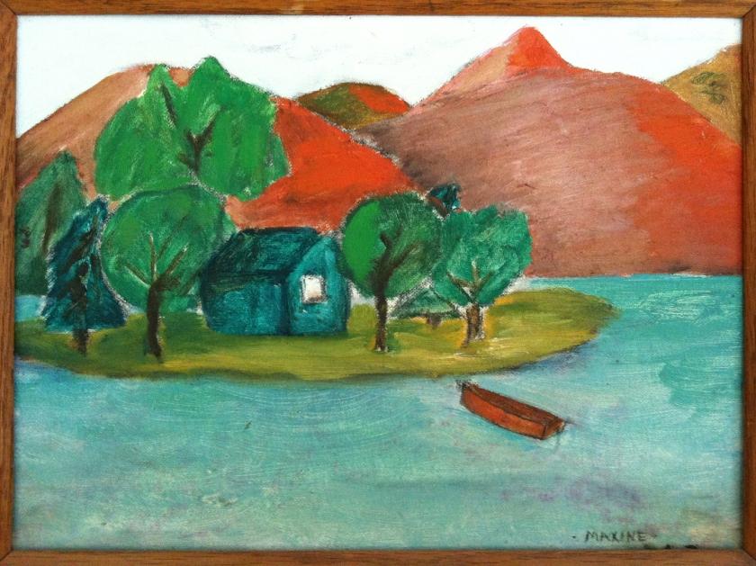 Maxine Davidowitz my first painting@72dpi
