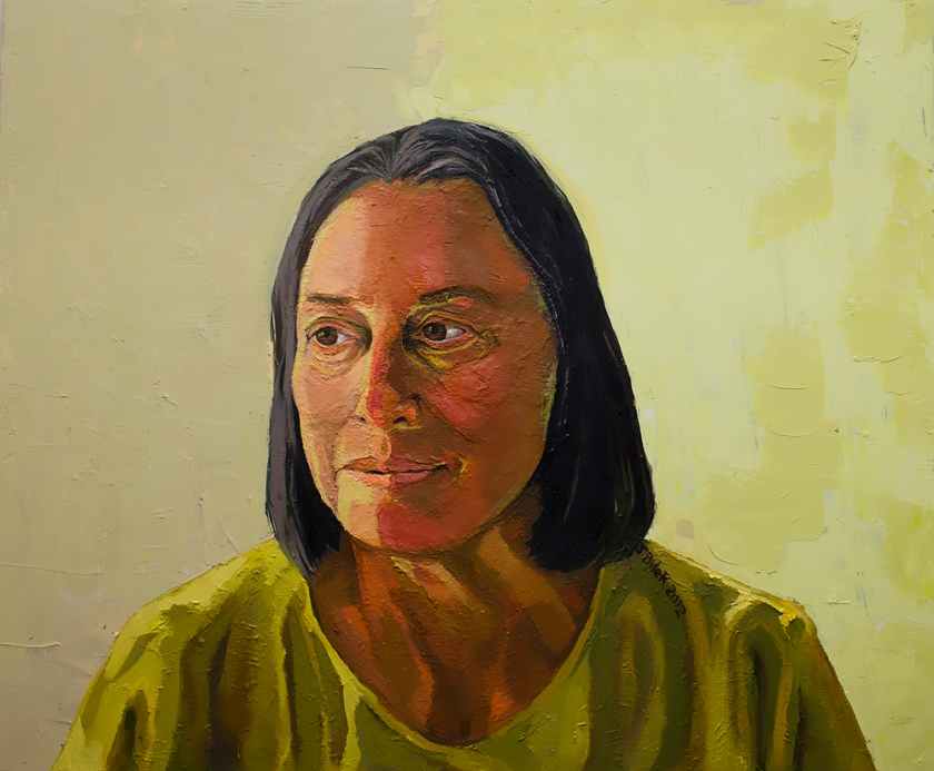 Jennifer Bilek Portrait of Diana Hartel