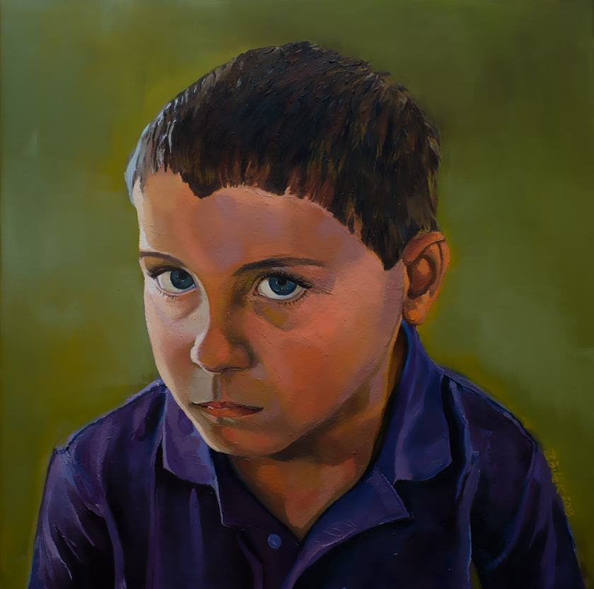 jennifer Bilek Portrait of Kaleb