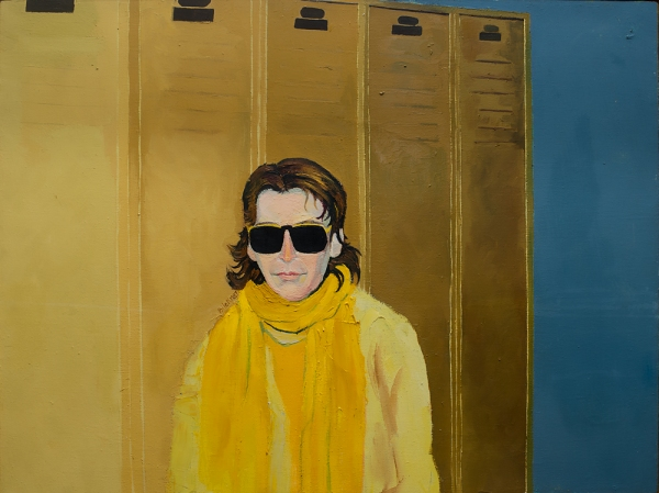 Jennifer Bilek Portrait of Linda Montano - Yellow # 3