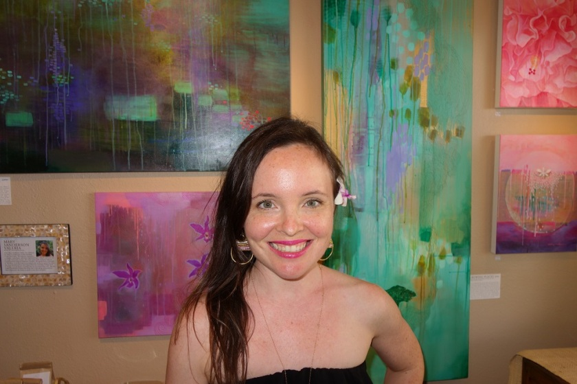 Jennifer   Mary (Sanderson) Valeria Opalescent Art