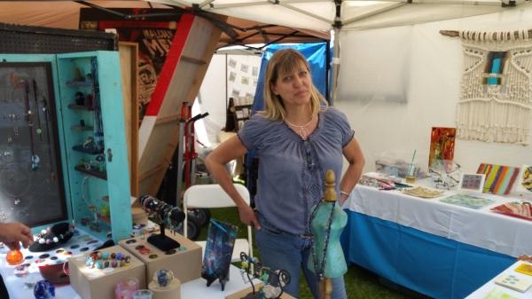 Jackalope  4   Cathi Milligan and the glass studio (2)