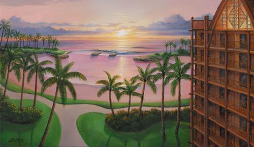 wgg  Disney artist Art of Disney  Larry Dotson   05