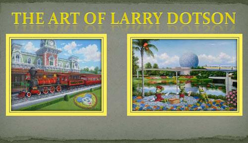 wgg  Disney artist Art of Disney  Larry Dotson   07