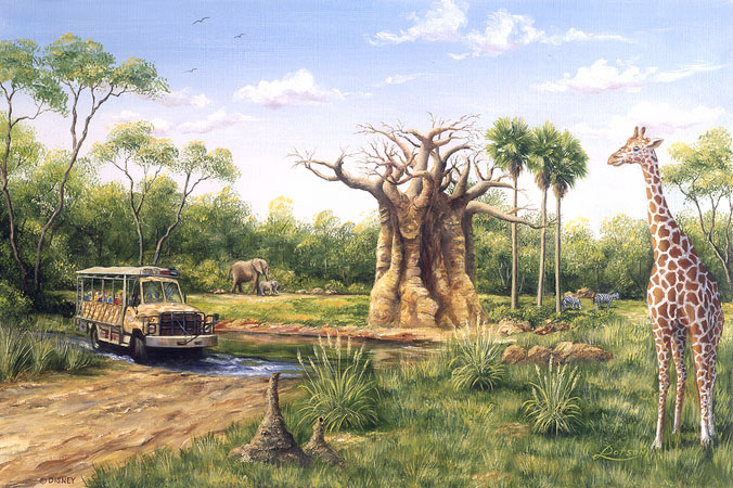 wgg  Disney artist Art of Disney  Larry Dotson   08