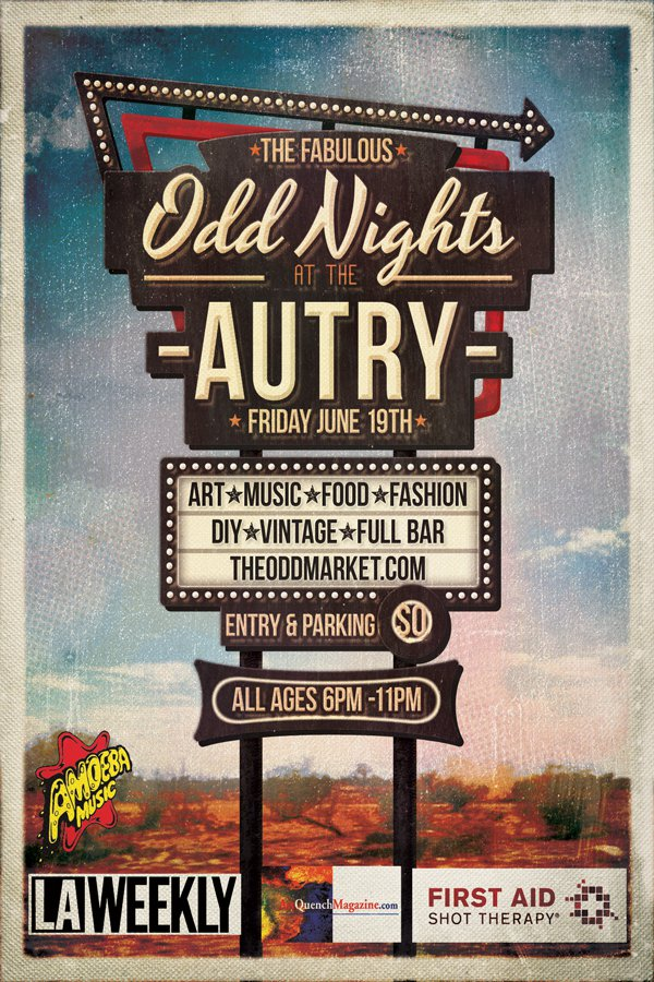 aq ODD Nights at the Autry  June 19