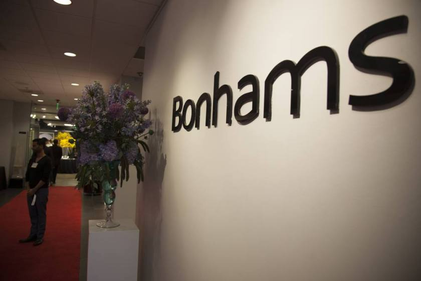 Jennifer  Art auction   bonhams