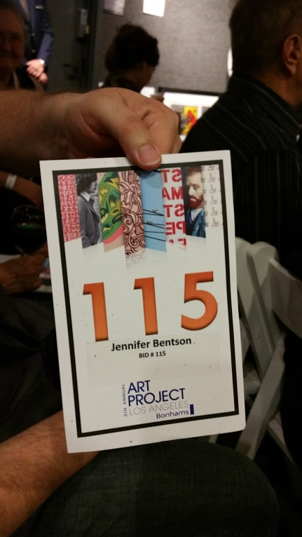 Jennifer  Bidding Card