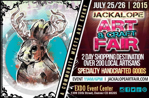 Jackalope art fair 2 Denver