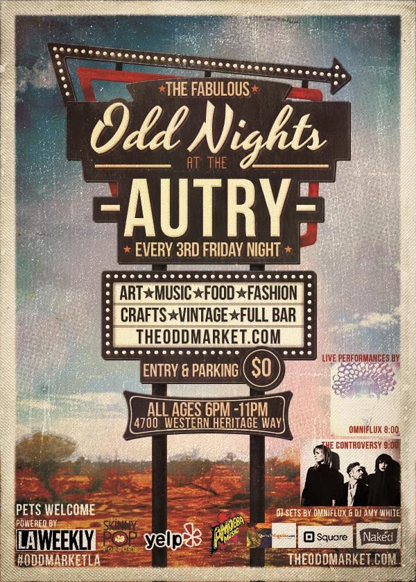 OddNights August 21 flyer