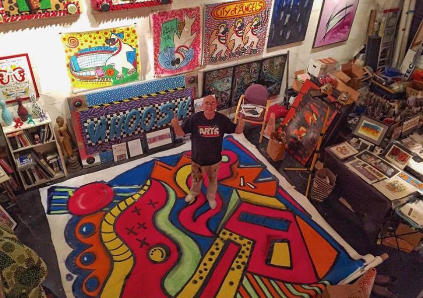 Kristine Shoebox PR Andre Miripolsky - studio