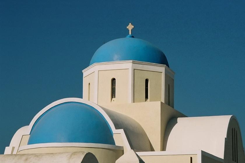 H. Allen Benowitz Blue Domed Church I