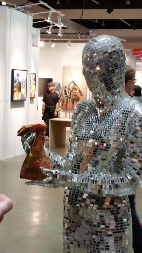 ArtQuench Magazine Yana Clark at THe LA Art Show 02