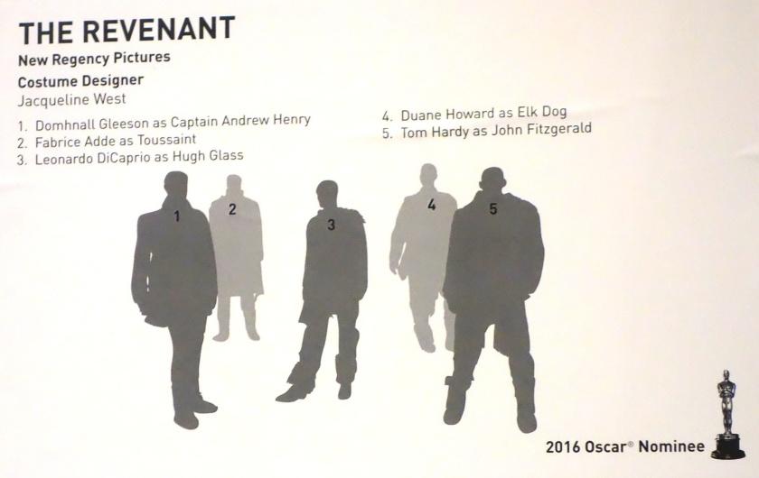 ArtQuench Magazine 5 FIDM The Revenant Credits