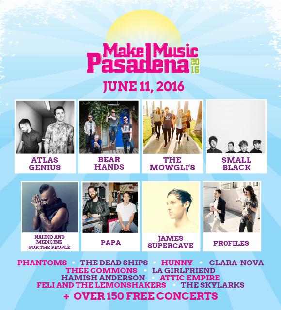 ArtQuench Magazine Make Music Pasadena