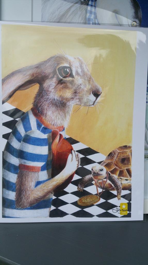 ArtQuench Magazine Artist illustrator Sterenn Jackalope