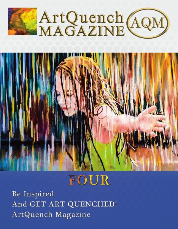 ArtQuench Magazine AQM FOUR Cover Winner Julie Howard