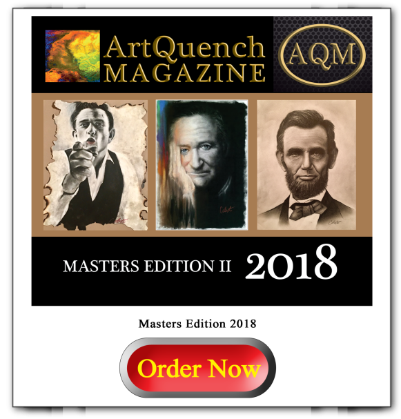 ArtQuench Magazine Masters Edition 2018 Button large