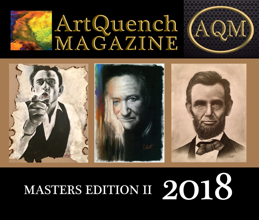 ArtQuench Magazine 2018 Art Book 1 Cover Celeste