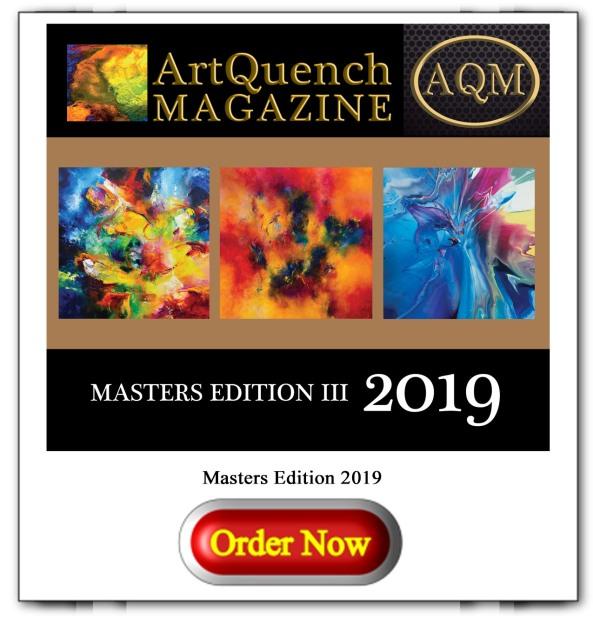 ArtQuench Magazine Masters Edition 2019 Button 1