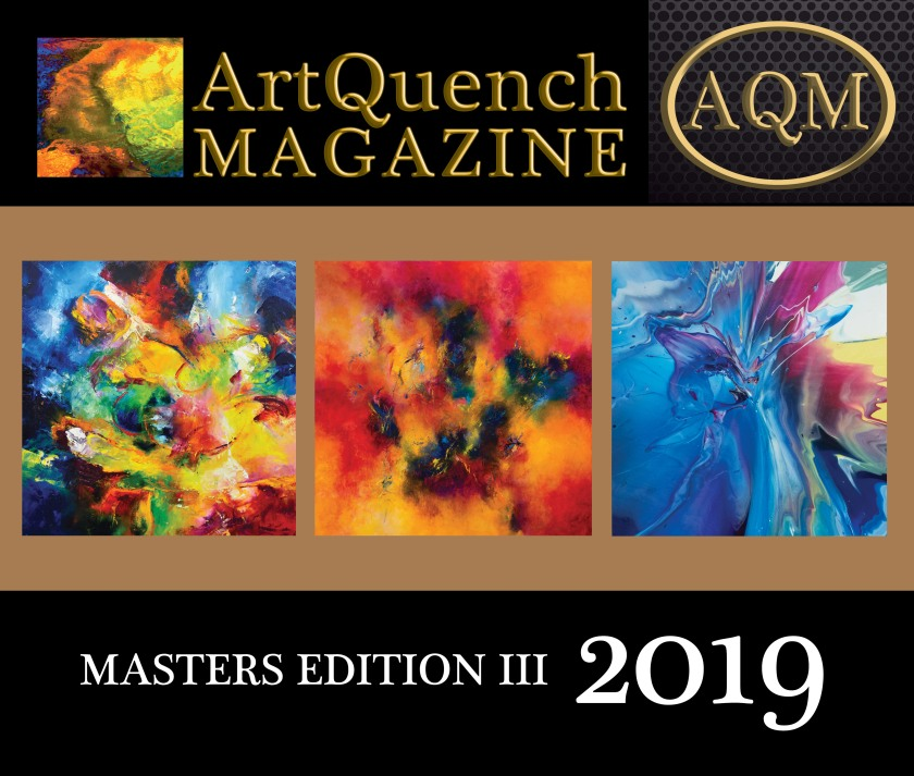 ArtQuench Magazine Masters Edition III 2019 Cover -1