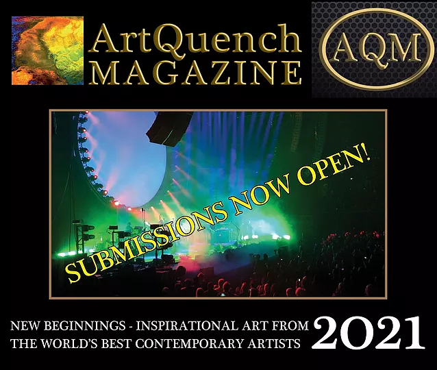 ArtQuench Magazine 2021 book submissions image